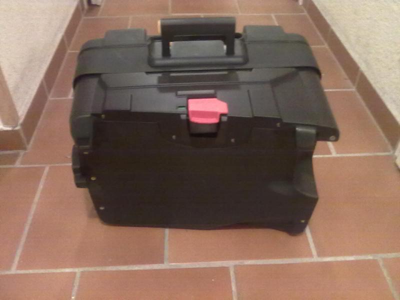 bmw vario koffer links rechts mit schl ssern in sehr gutem. Black Bedroom Furniture Sets. Home Design Ideas