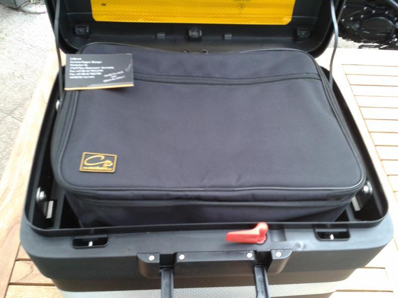 innentaschen f r die vario koffer topcase der neuen gs lc. Black Bedroom Furniture Sets. Home Design Ideas