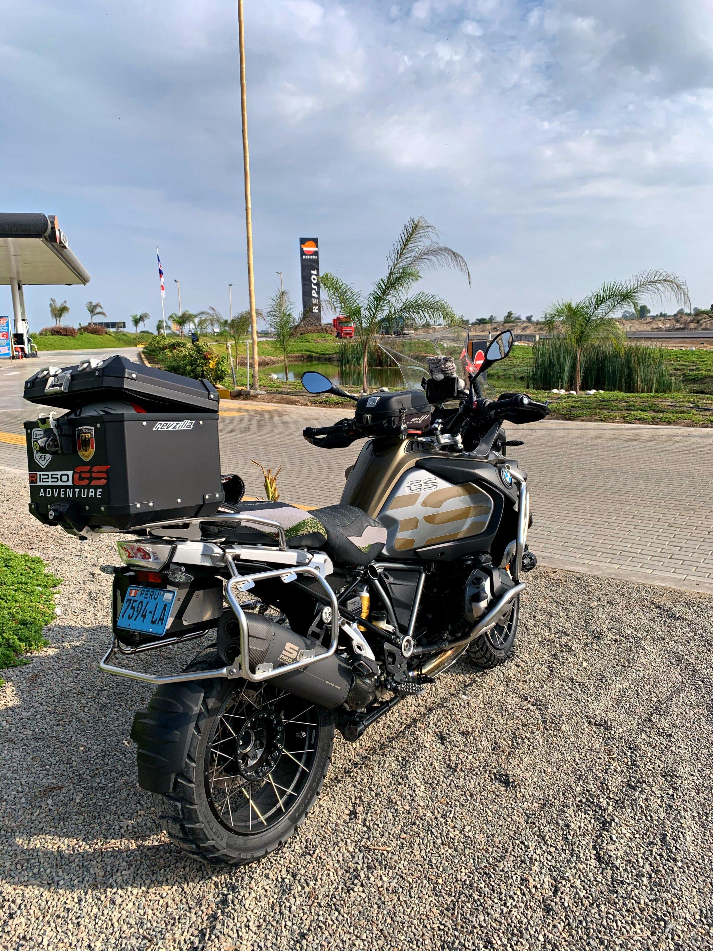 Sonstige schwarz glnze BMW R1250GS Lackschutzfolie Set Vario ...