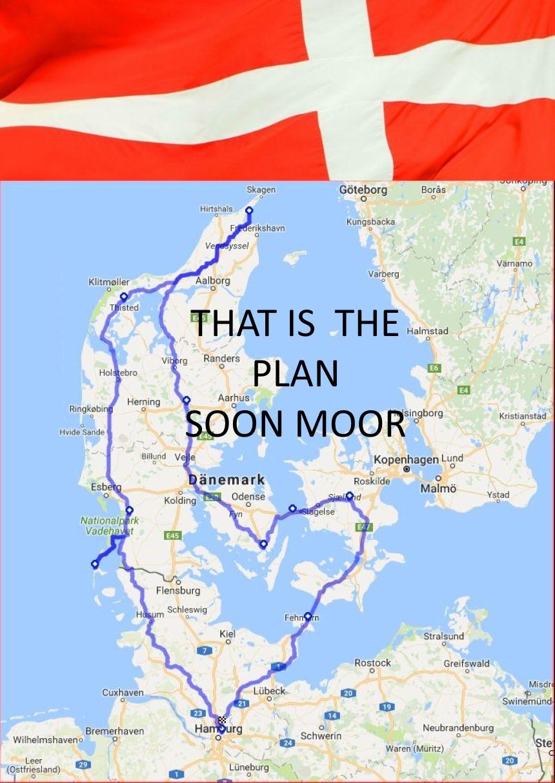 margeritenroute dänemark karte 7 Tage Dänemark