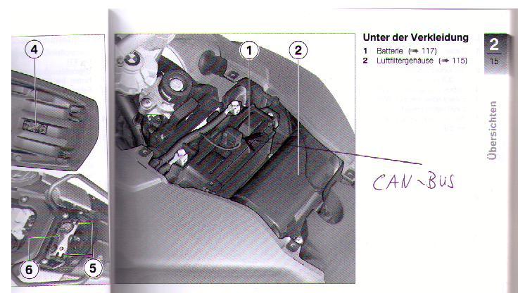 Freie Canbus Kupplung An F800gs Wo