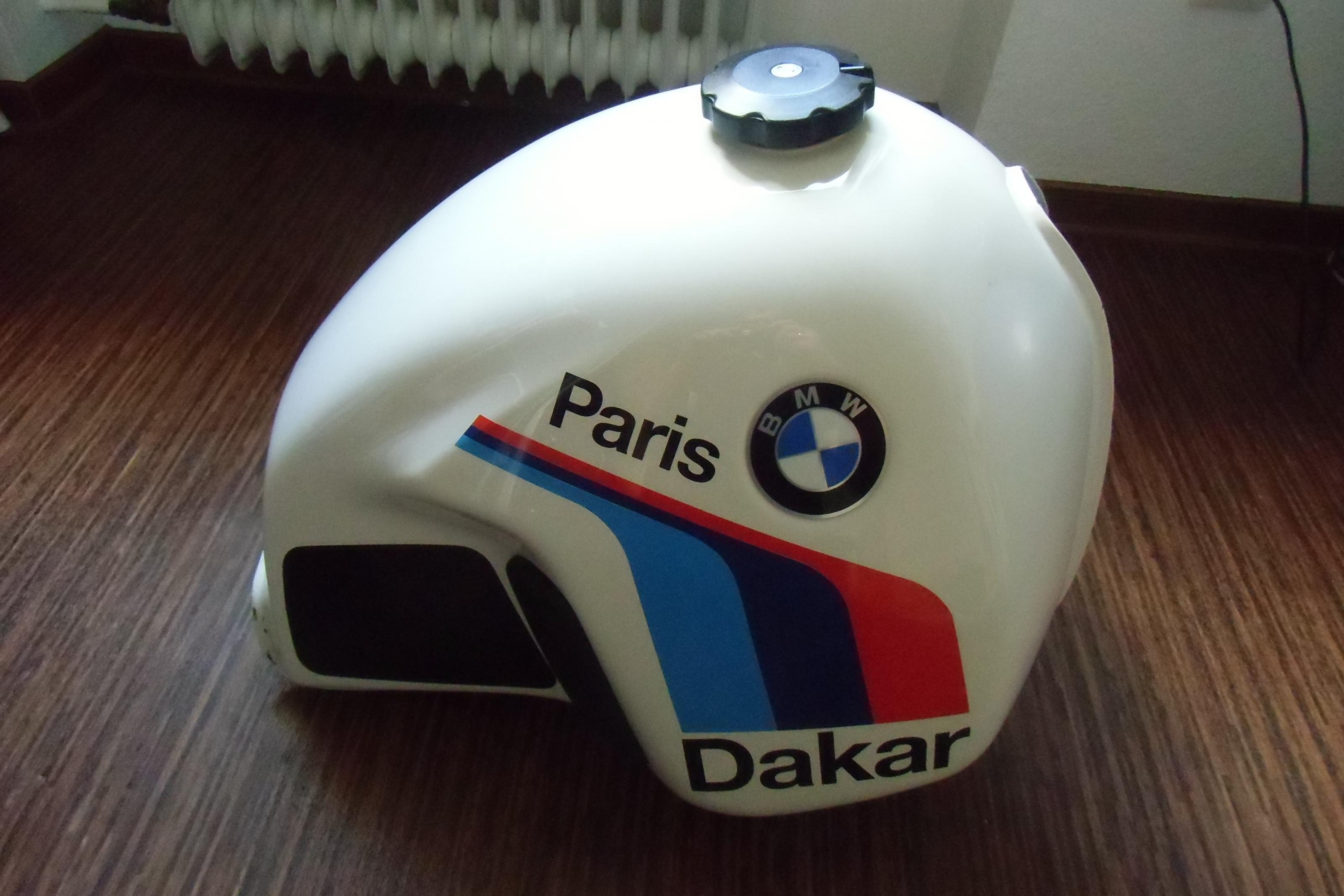Paris Dakar Tank 32ltr