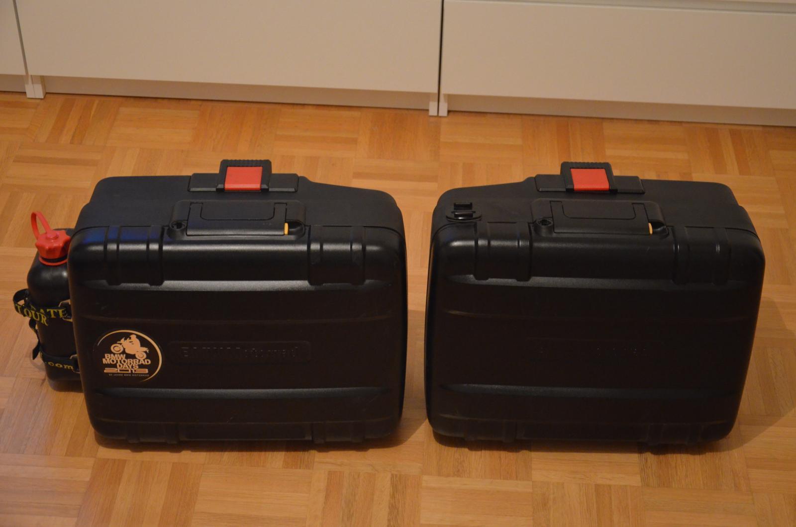 bmw vario koffer inkl 2l kanister. Black Bedroom Furniture Sets. Home Design Ideas