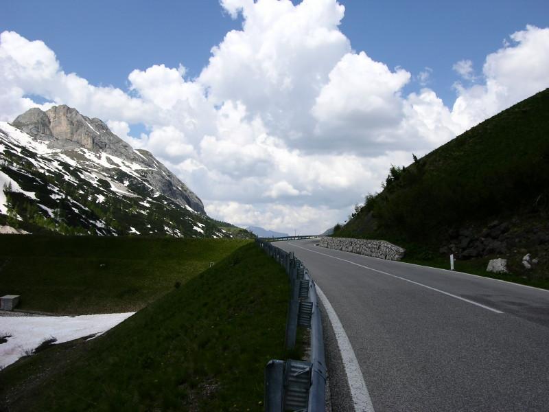 Passo Fedaia, der mit den Murmeltieren