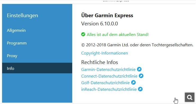 Klicke auf die Grafik für eine größere Ansicht  Name:Garmin Express Update.png Hits:357 Größe:147,4 KB ID:268478
