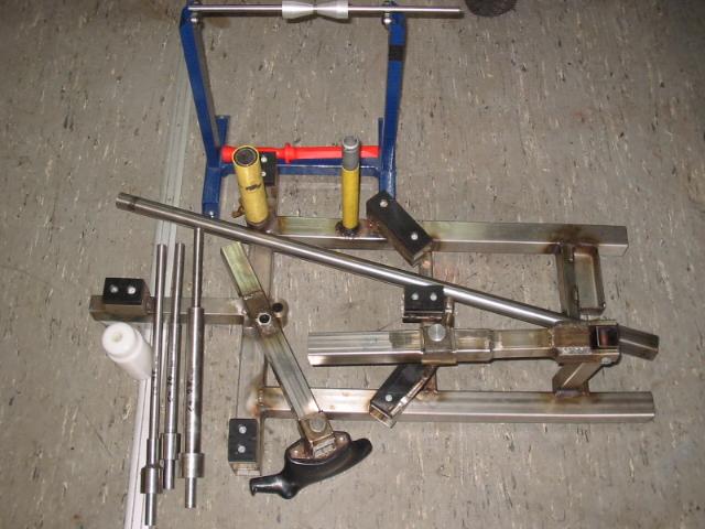 Reifenmontierger 228 T Wuchtbock