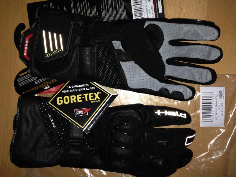 c545d2159fa45d NEUE nicht getragene HELD AIR N DRY 2242 GR.09 2IN1 Handschuhe