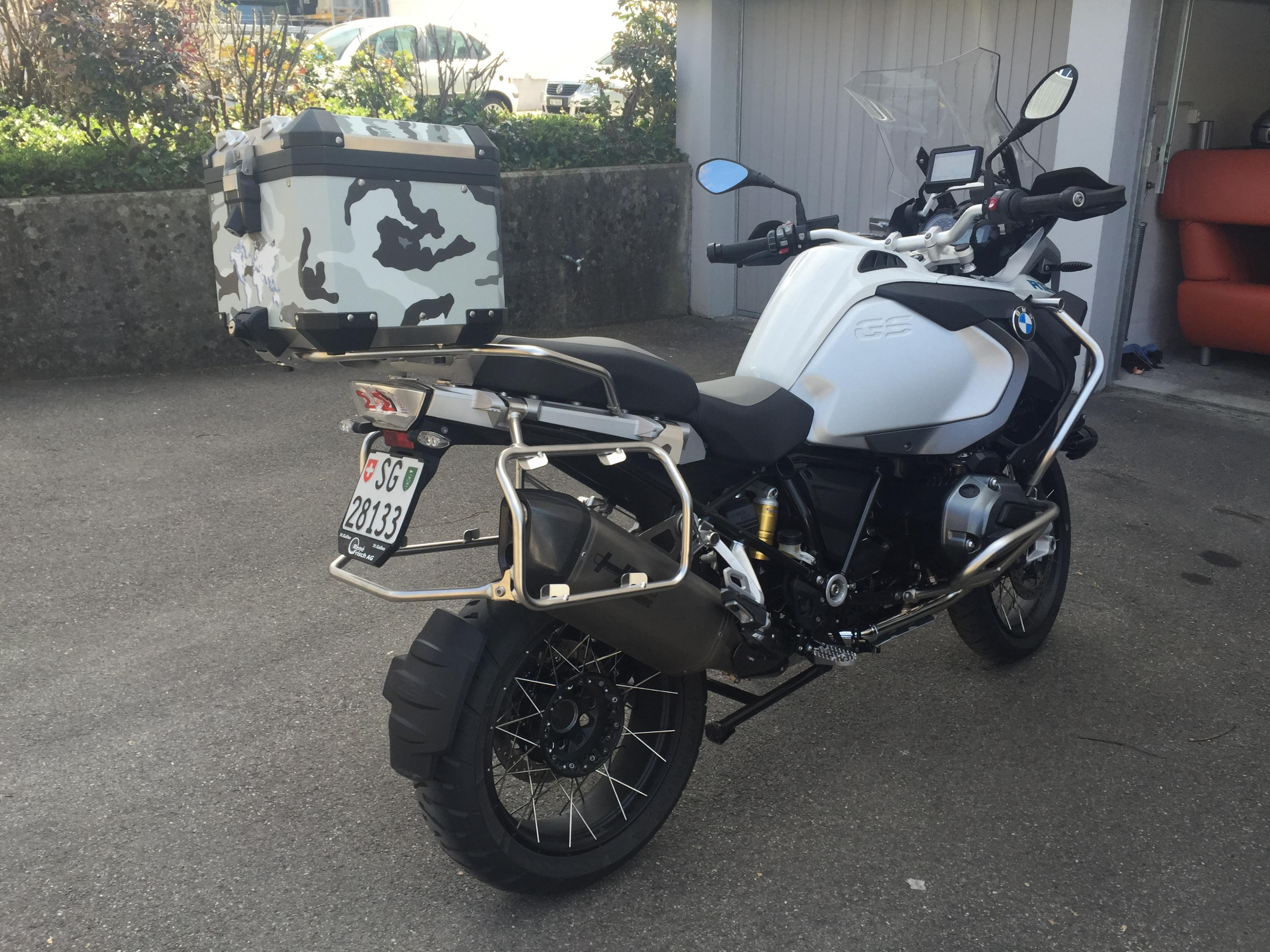 Aufkleber f r koffer bmw r1200 gs adventure lc for Gs decorating