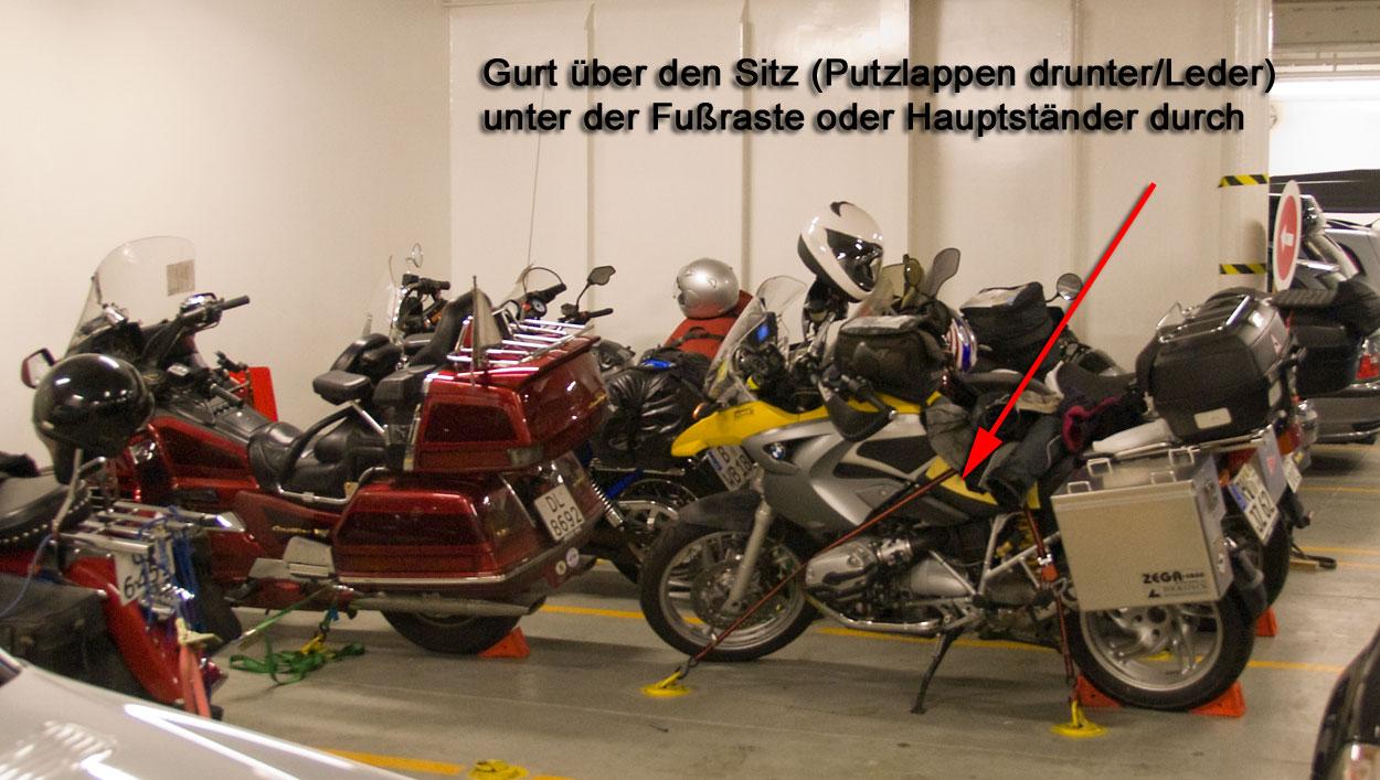 tipps f r motorrad auf f hre verzurren gesucht seite 2. Black Bedroom Furniture Sets. Home Design Ideas