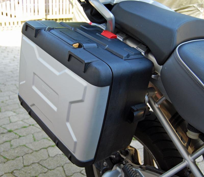 bmw r 1200 gs vario koffer vario topcase kofferhalter. Black Bedroom Furniture Sets. Home Design Ideas