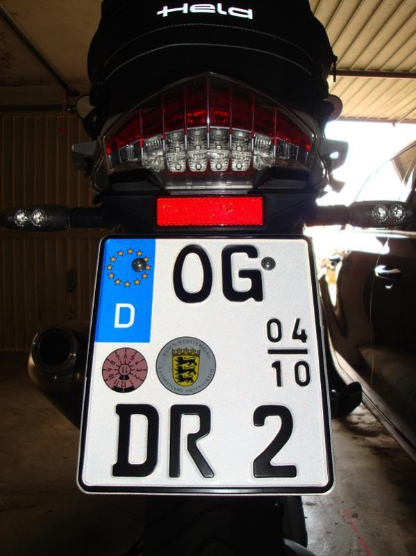 Motorradkennzeichen Soll Kleiner Werden Seite 40