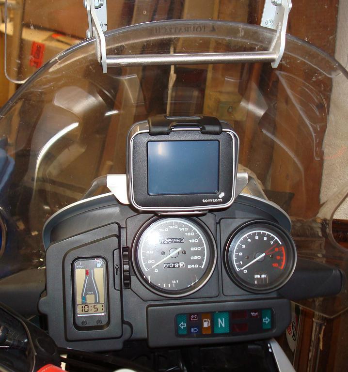 R 1150 Gs Navihalter Am Cockpit