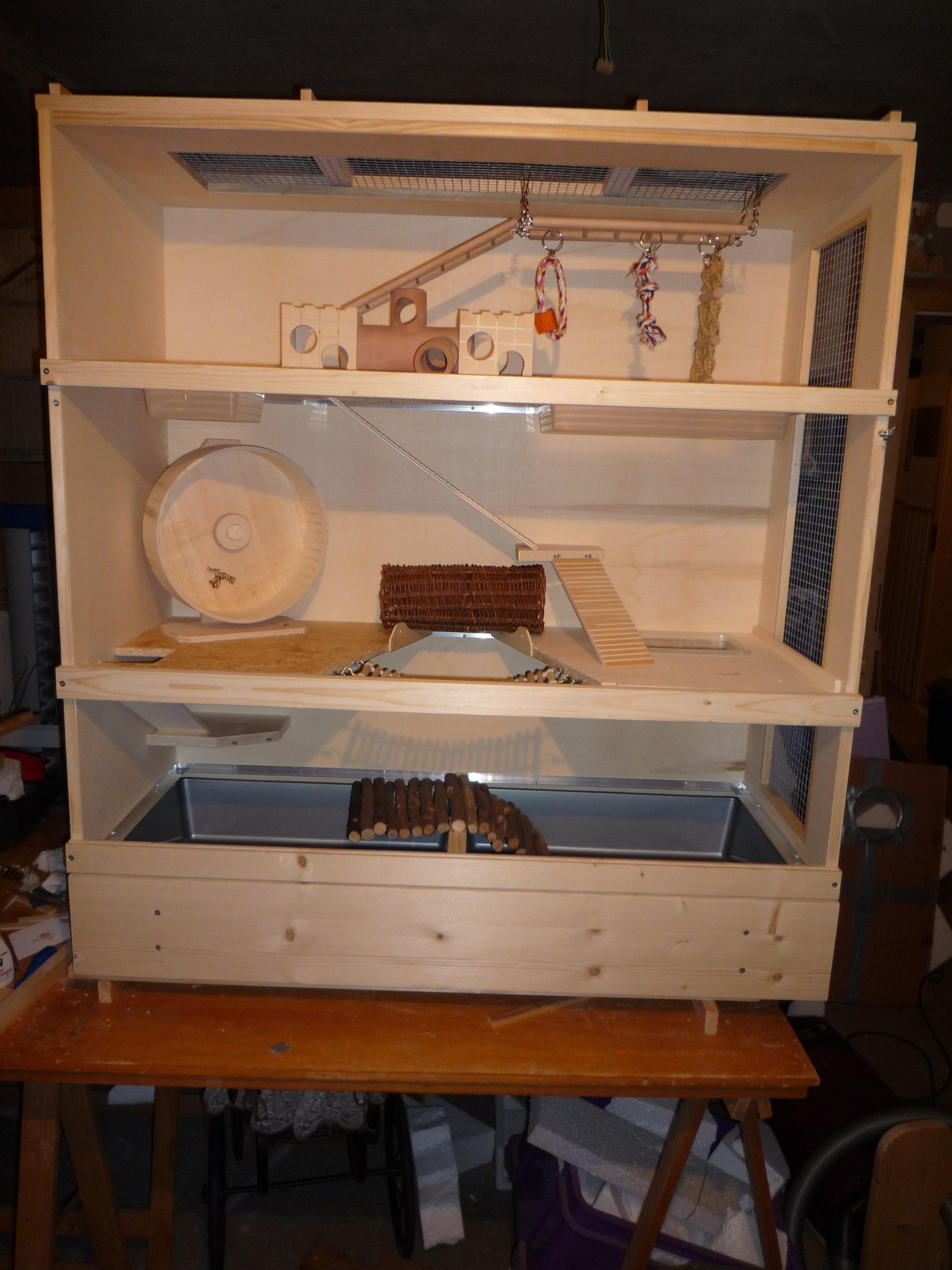 biete sonstiges hamster k fige marke eigenbau. Black Bedroom Furniture Sets. Home Design Ideas