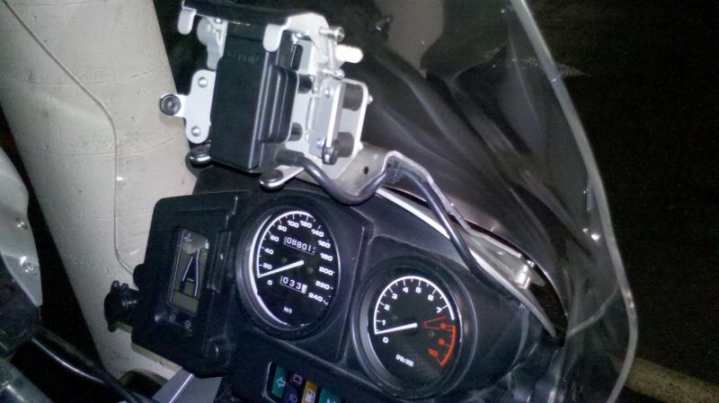 Garmin Zumo 660 an R1150GS